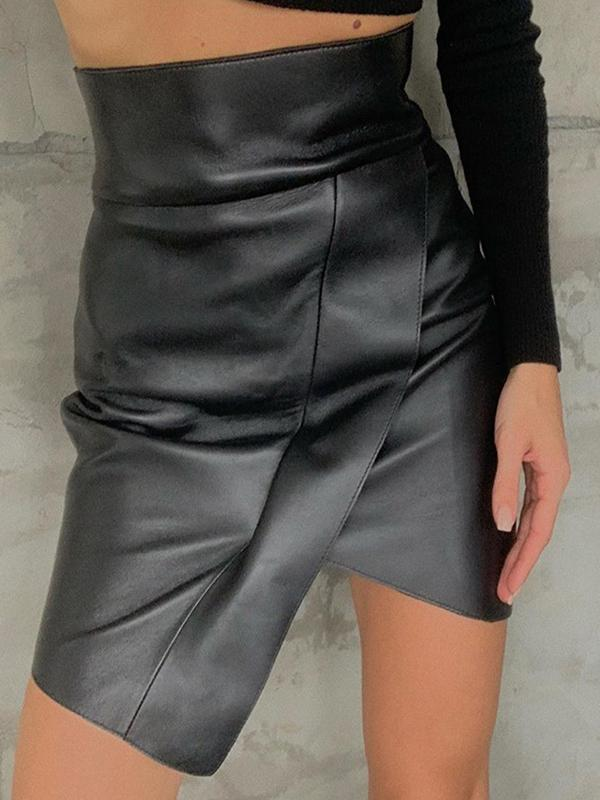 Women's Lrregular Sexy High Waist Skirt