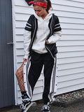 Women's New personality casual wide leg pants