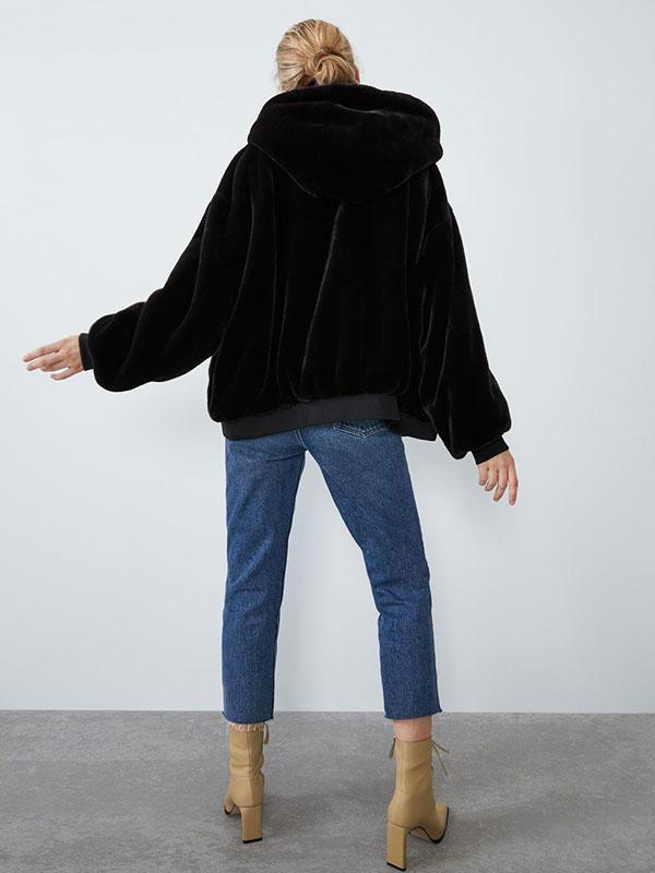Women's New Warm Loose Hooded Cotton Coat