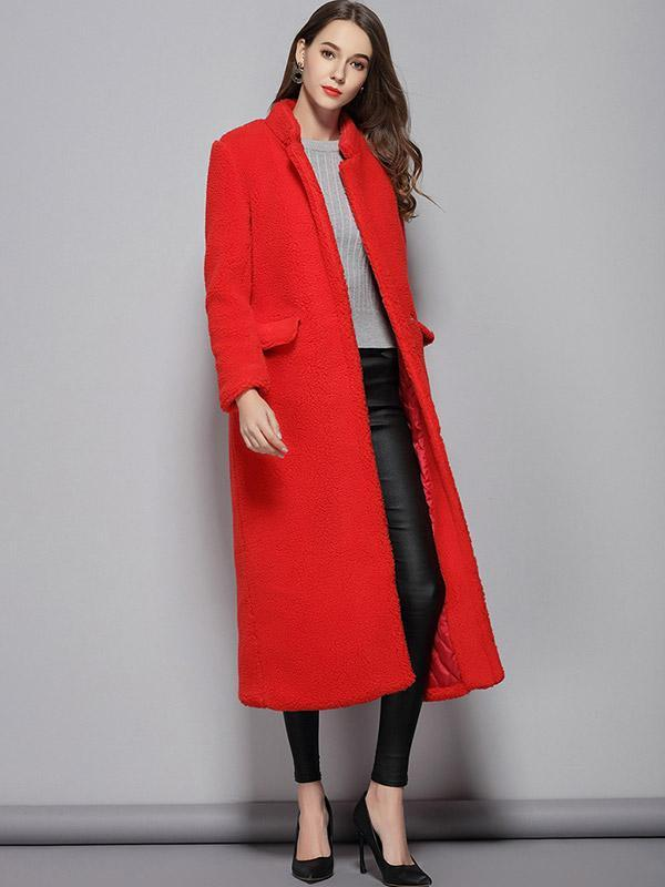 Women's Padded cotton lamb wool warm coat