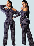 Women's Sexy Personalized Printed Jumpsuit