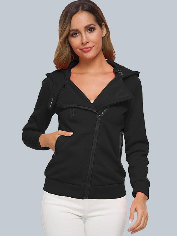 Women's Velvet padded sweatshirt