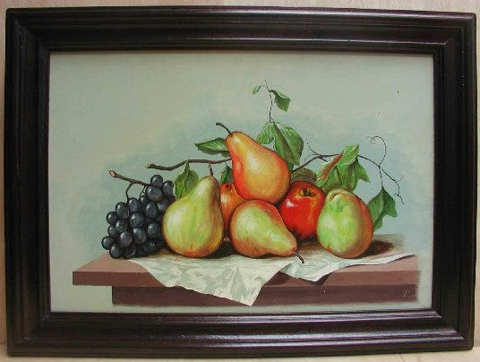 fruit art, fruit paintings, made in Peru