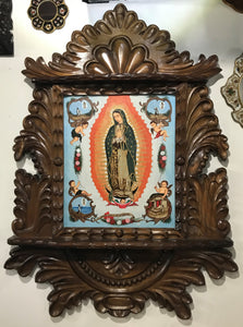 hand painted Guadalupe