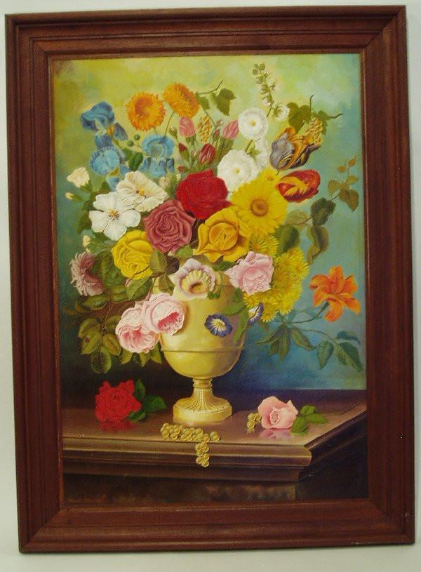 Mixed Floral painting