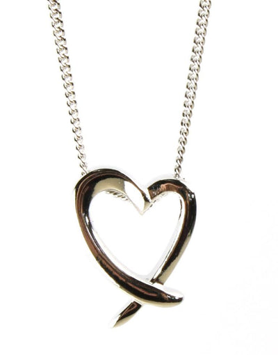 Simple Open Heart Pendant, 1117
