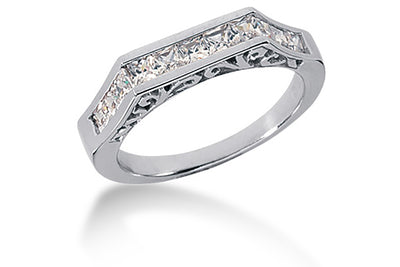 .77ctw Princess Cut Diamond Band