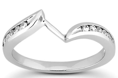.18ctw Diamond Wedding Band
