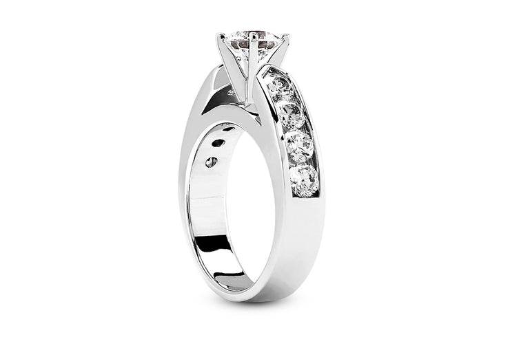 .30ctw Diamond Channel Engagement Ring Setting
