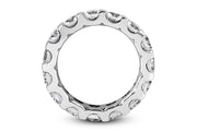 .87ctw  Diamond Eternity Band
