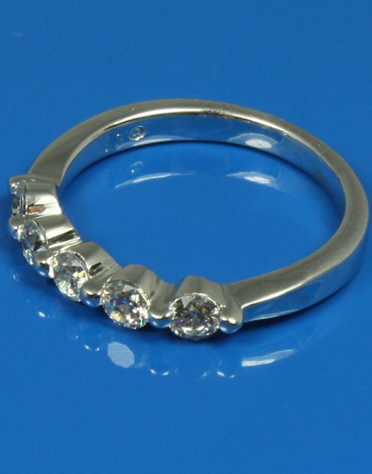 .50ctw Five Diamond Band, 201