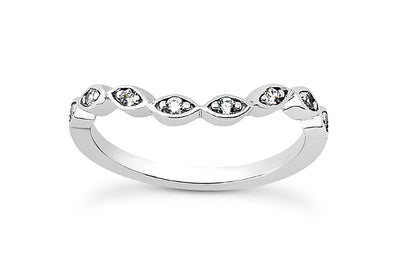 .12ctw Diamond Curved Diamond Band