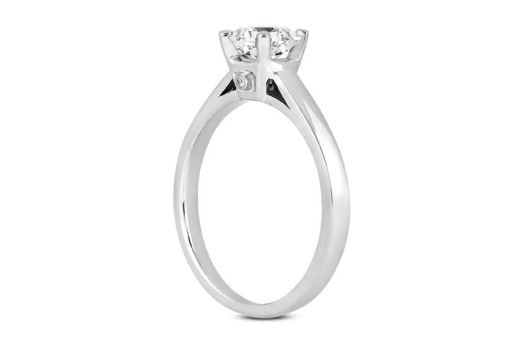 Diamond Solitaire Ring Setting