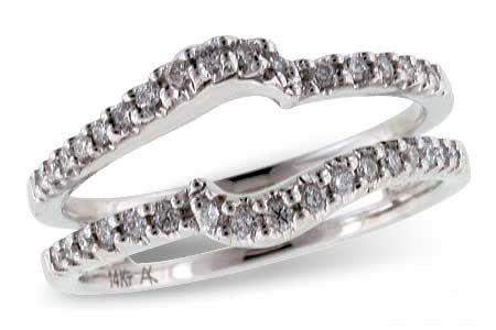 .32 Ctw Pave Diamond Ring Guard
