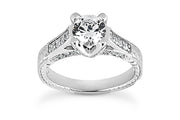 .38ctw Diamond Carved Ring Setting