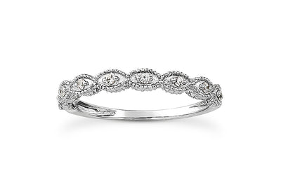 .08ctw Diamond Engraved Band