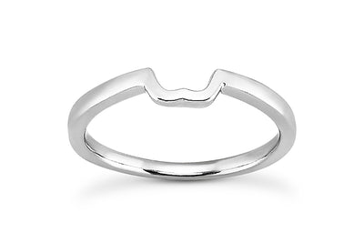 Knotched Wedding Band