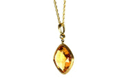 Citrine Rock Candy Necklace