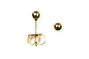 3mm Ball Earrings