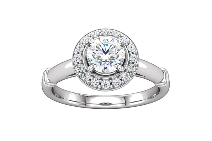 """Paige"" Diamond Ring Setting"