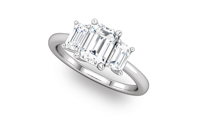 """Savannah"" Diamond Ring Setting"