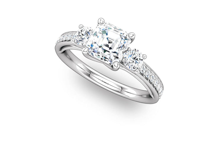 """Clara"" Diamond Ring Setting"