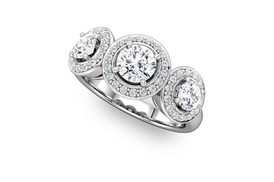"""Aspen"" Diamond Ring Setting"