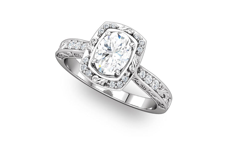 """Harlow"" Diamond Ring Setting"