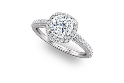 """Ella"" Diamond Ring Setting"