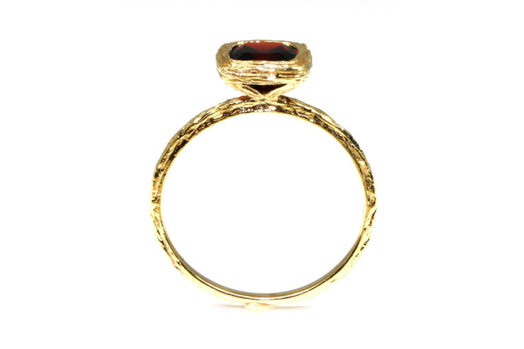 Garnet Rock Candy Ring