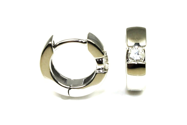 .20ctw Diamond Huggie Hoop Earrings