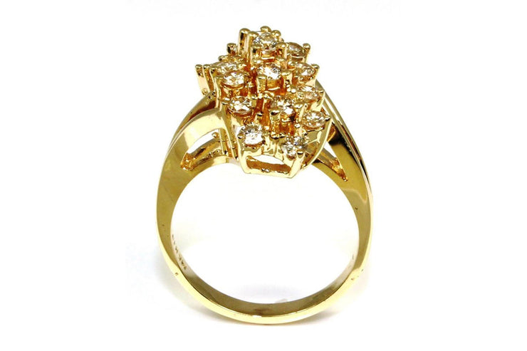 .75ctw Diamond Waterfall Ring