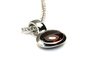 Cabochon Garnet Necklace