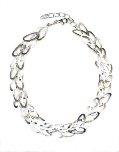 Scratch Matte Wreath Necklace, 5710