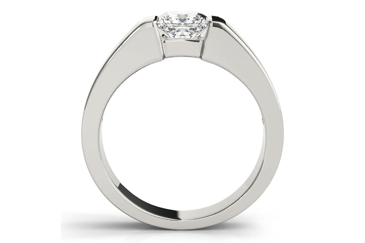 Channel Set Diamond Ring Setting