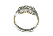 Diamond .22ctw Vintage Three Row Ring