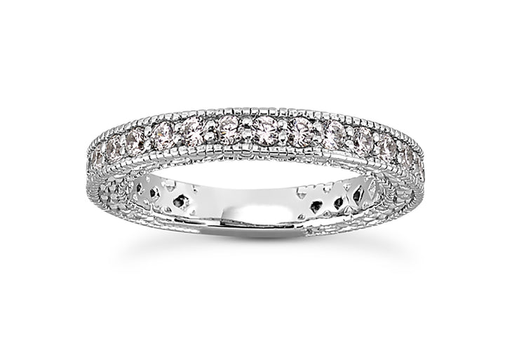 .62ctw Carved Diamond Band