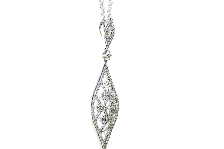 Diamond Lace Necklace
