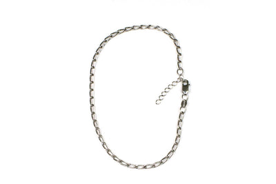 Elongated Diamond Cut Cable Anklet