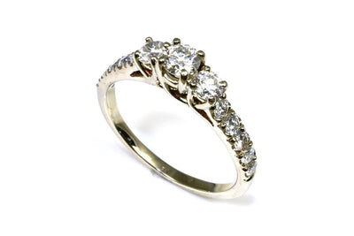 1.25ctw Diamond Three Stone Ring
