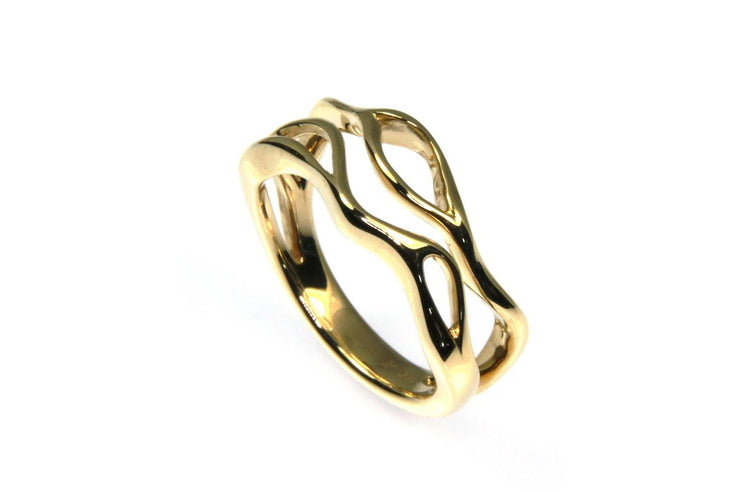 Free Form Orbit Ring