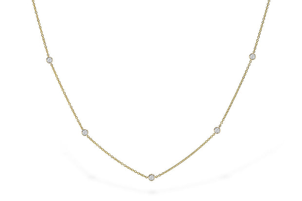 Diamond .50ctw Bubbles Necklace