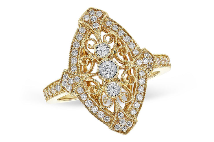 Diamond .40ctw Vintage Inspired Ring