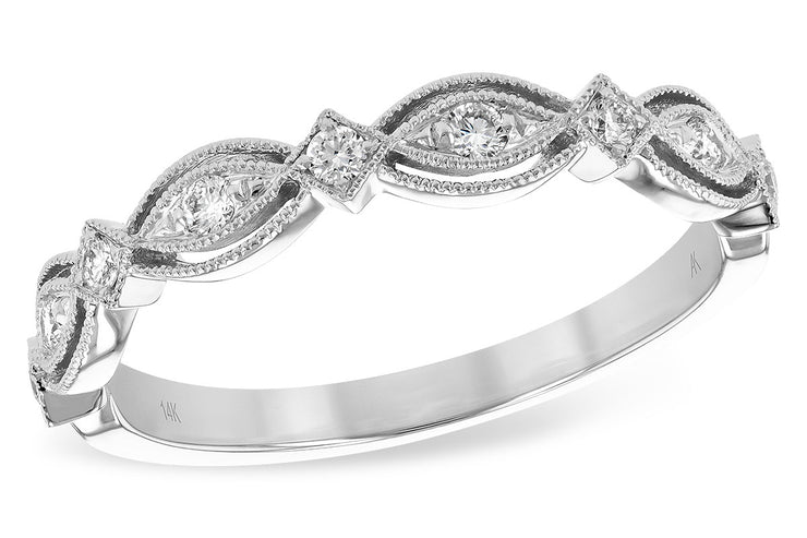 Fancy Diamond Stacking Band