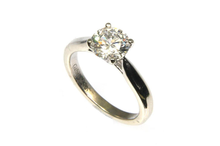 1.06ct Round Diamond Solitaire