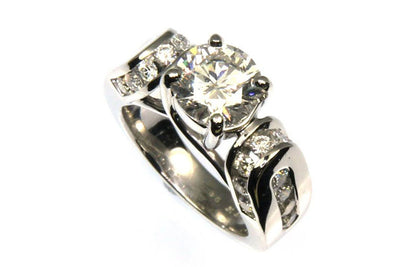 2.90ctw Diamond Bridal Ring