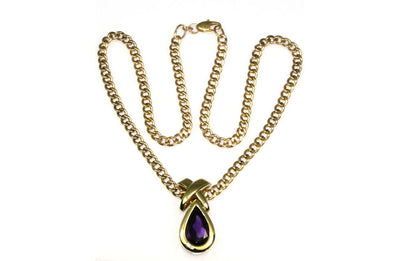 Bold Amethyst Necklace