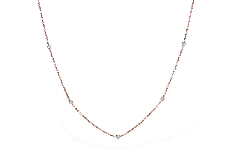Diamonds .25ctw Bubbles Necklace