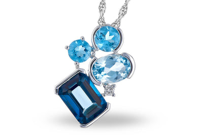 Blue Topaz Dream Necklace