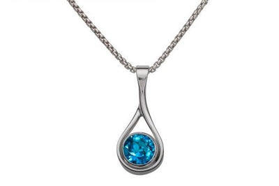 Desire Blue Topaz Necklace